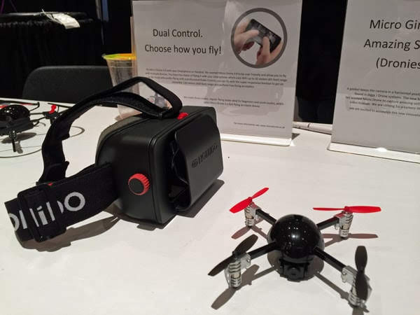 GroupGets Flies Over to Interdrone 2015