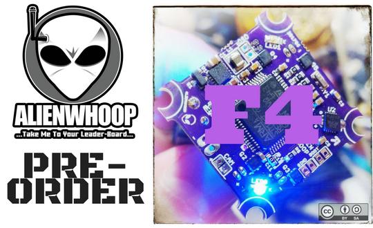 AlienWhoop V2 Flight Controller (Round 2)