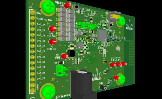 SīnWaves CC1310 Energy Harvesting Sensor Kit