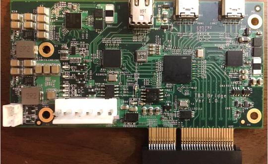 Thunderbolt 3 Bridge Board- PCIe 3 Gen 3 x4 extender (Round 2)
