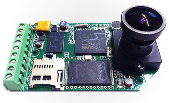 HackHD PCB and f2.8 160° Lens