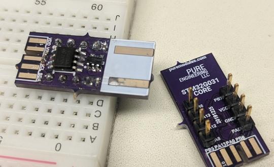 STM32G031 Core Module
