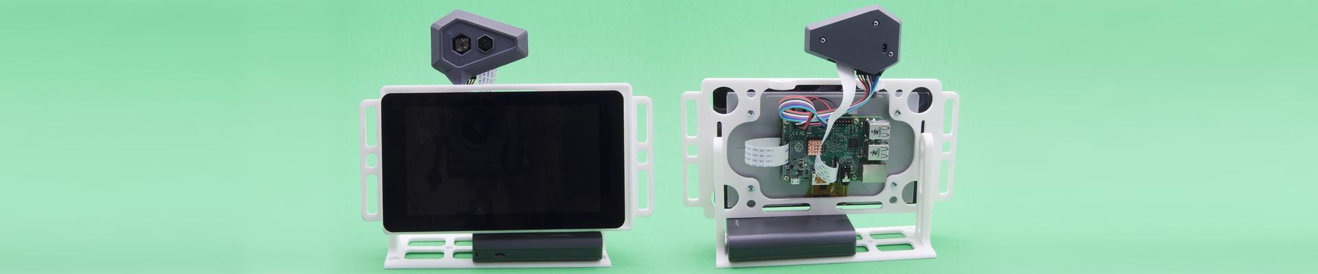 3D Printed Raspberry Pi & Screen Mount