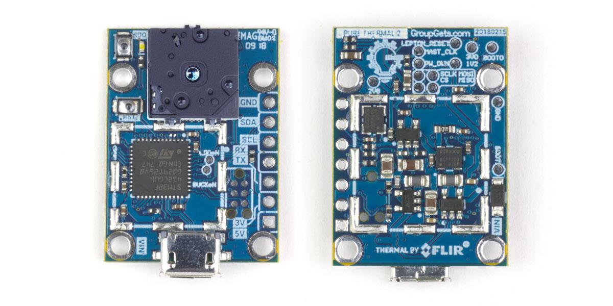 PureThermal 2 - FLIR Lepton Smart I/O Module